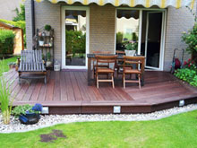 bangkirai terrassen berlin + bfb tischlerei berlin + bangkirai, Garten ideen
